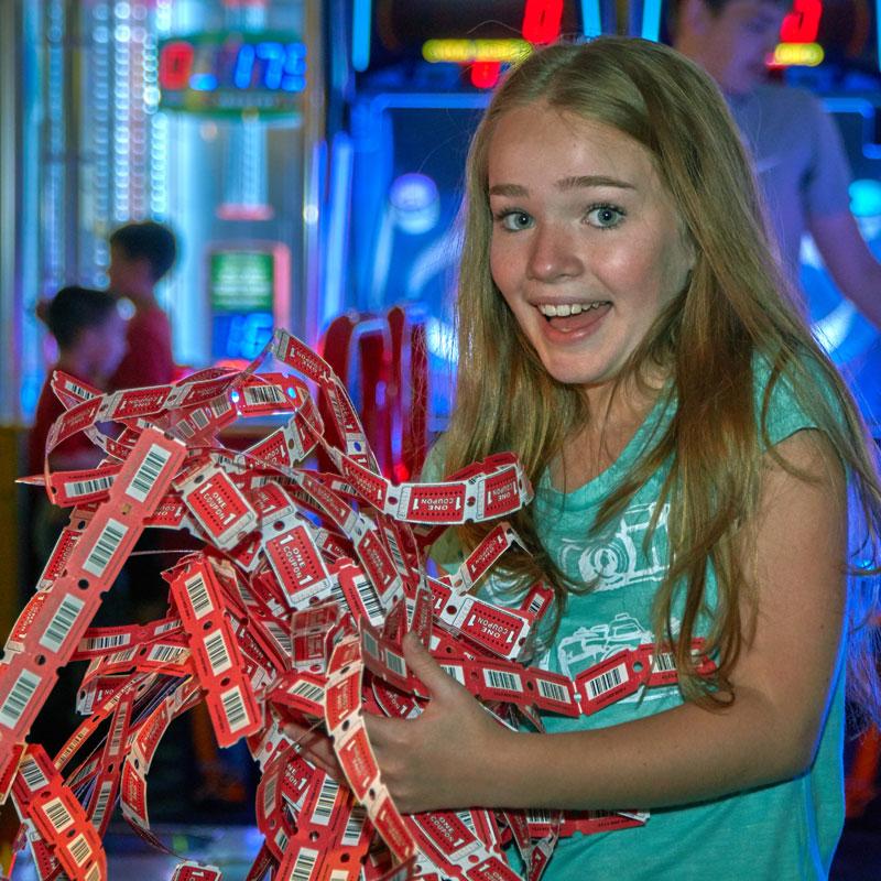 Arcade Tickets Wonderland Spokane