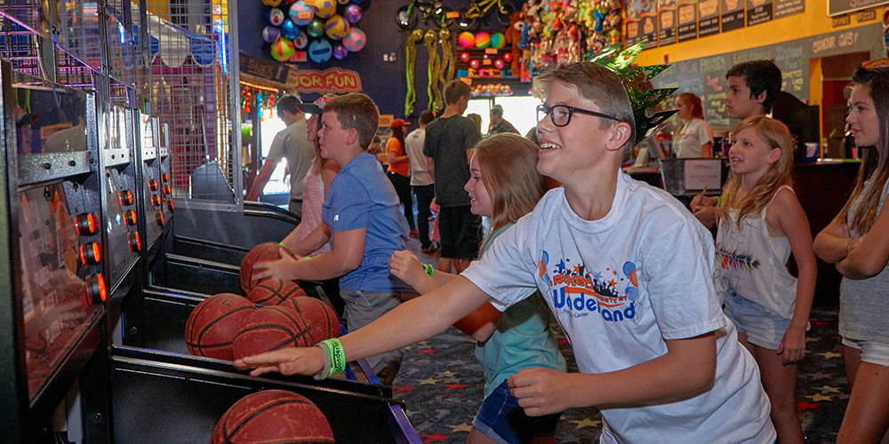 Arcade Wonderland Fun Center Spokane