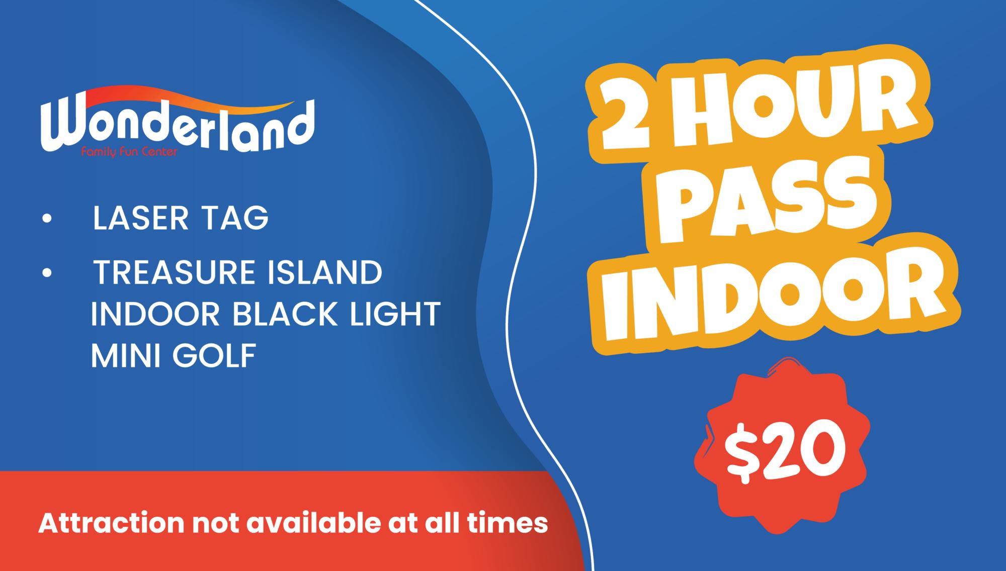 Indoor Pass $20
