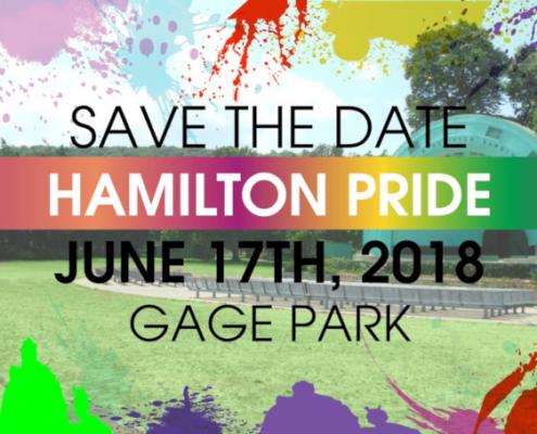 Hamilton Pride, June 17th 2018