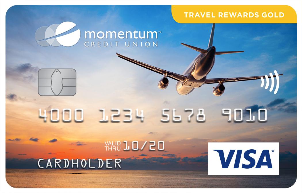 Momentum Visa Travel Rewards Gold Card