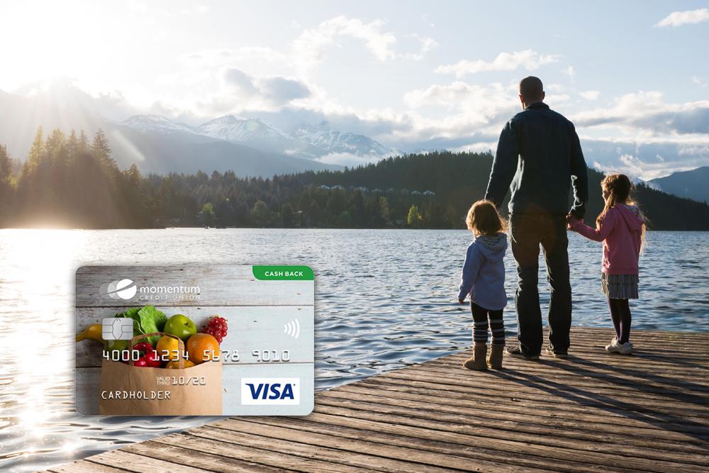 Momentum Cash Back Visa