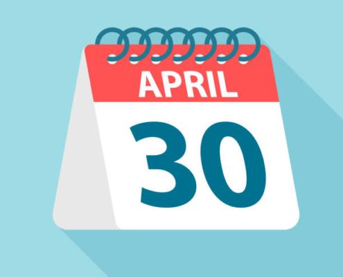 April 30th Annual Membership Dues