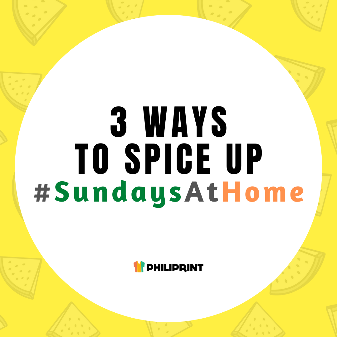3 Ways To Spice Up Sundays At Home
