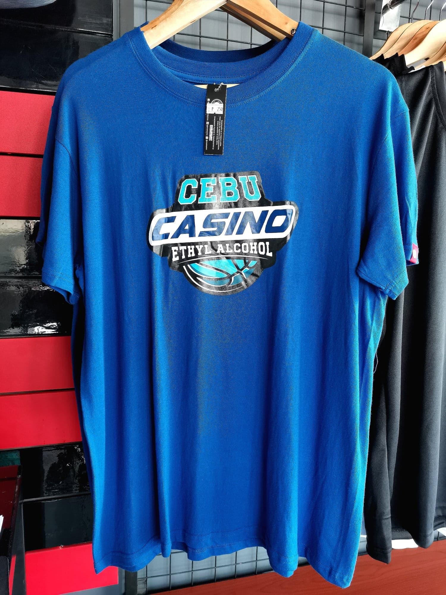 Philiprint Short Sleeves Shirt Sublimation Cebu Casino Ethyl Alcohol