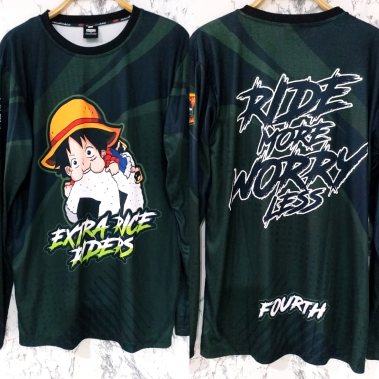 Philiprint Long Sleeves Sublimation Extra Rice Riders
