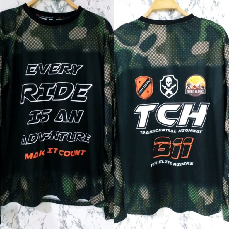 Philiprint Long Sleeves Shirt Sublimation Every Ride Is An Adventure