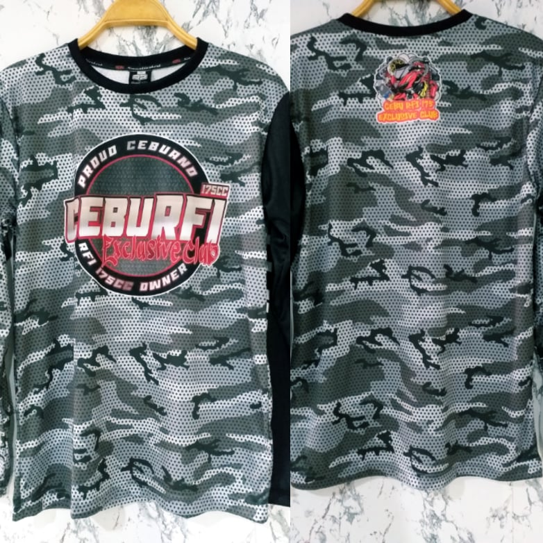Philiprint Long Sleeves Full Sublimation CEBURFI Exclusive Club