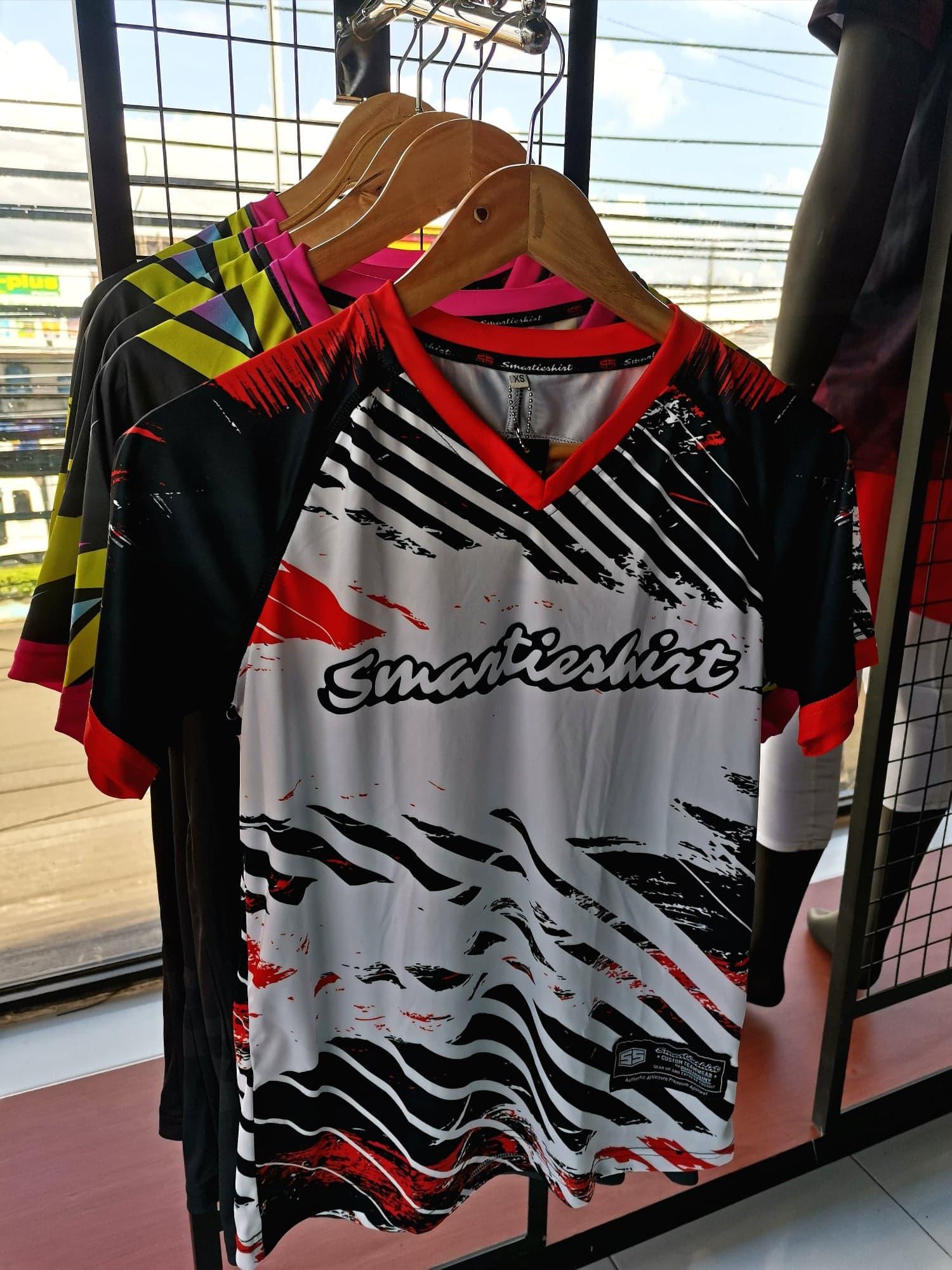 Philiprint Short Sleeves Shirt Sublimation Smartieshirt Volleyball Jersey