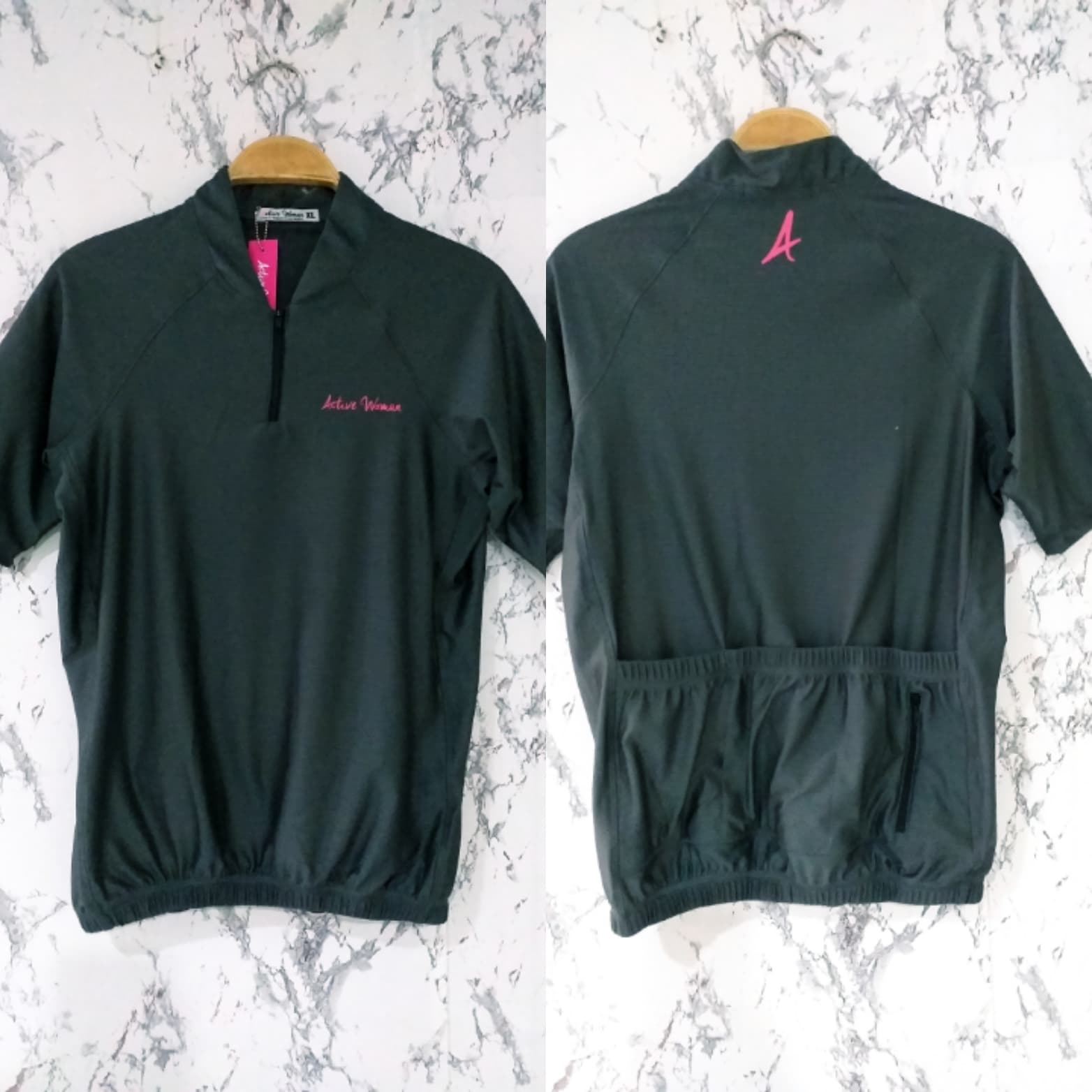 Philiprint Short Sleeves Shirt Bike Jersey Active Woman