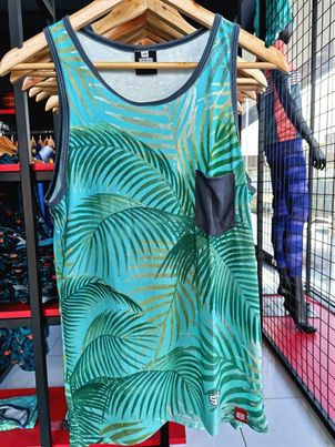 Philiprint Sleeveless Full Sublimation Coconut Leaves Tank Top