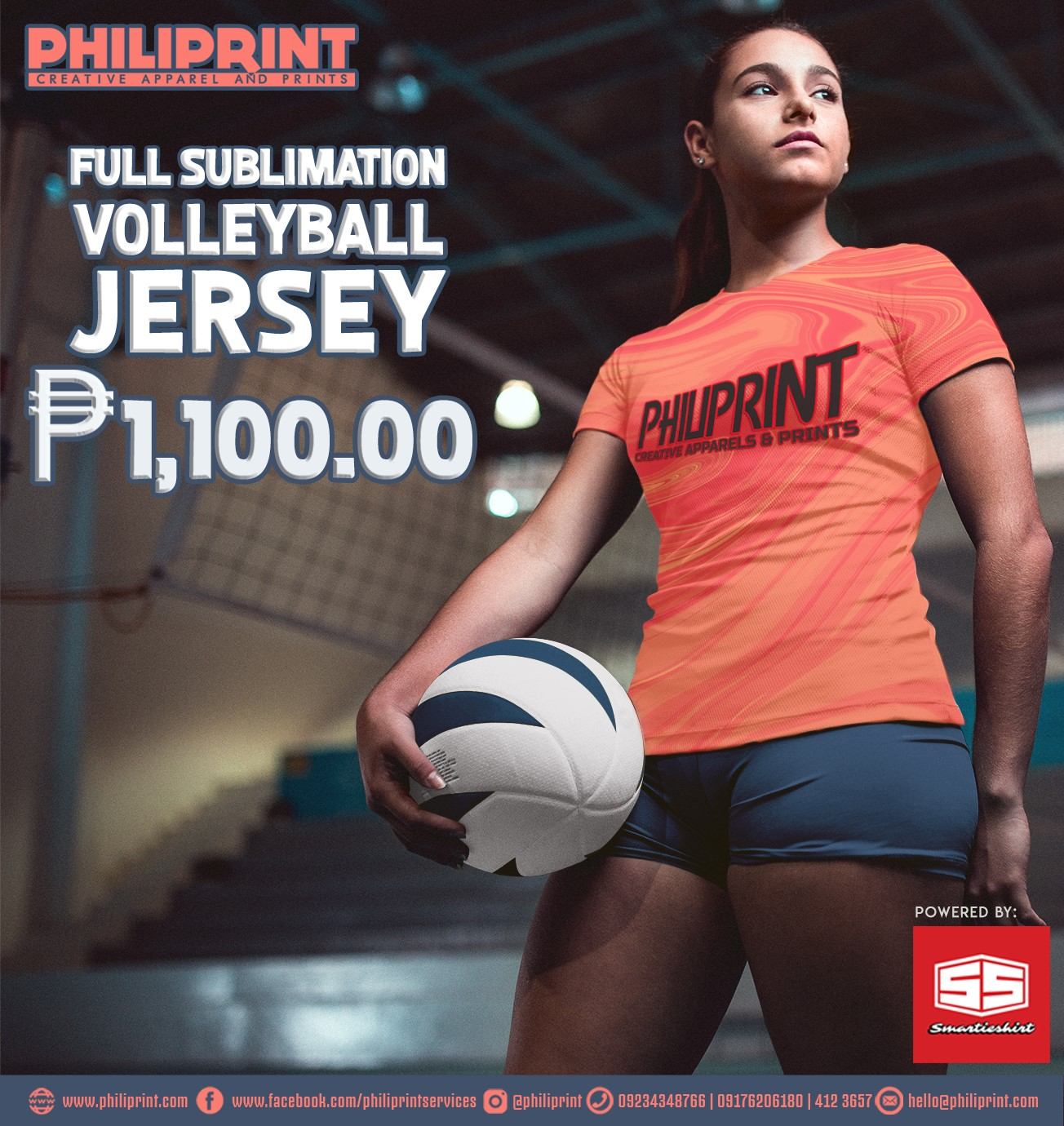 Volleyball Jersey Philiprint