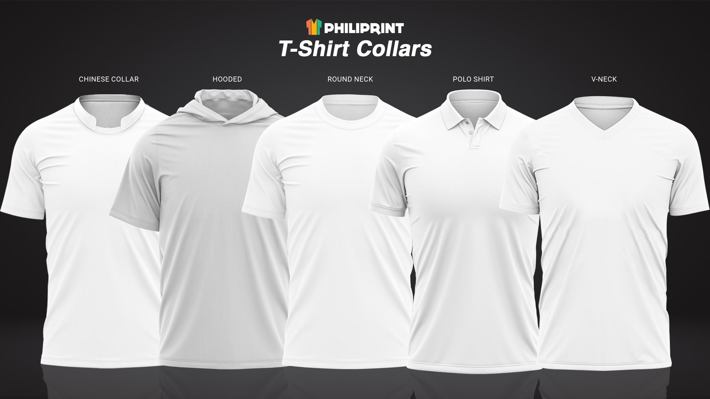 philiprint shirt collars