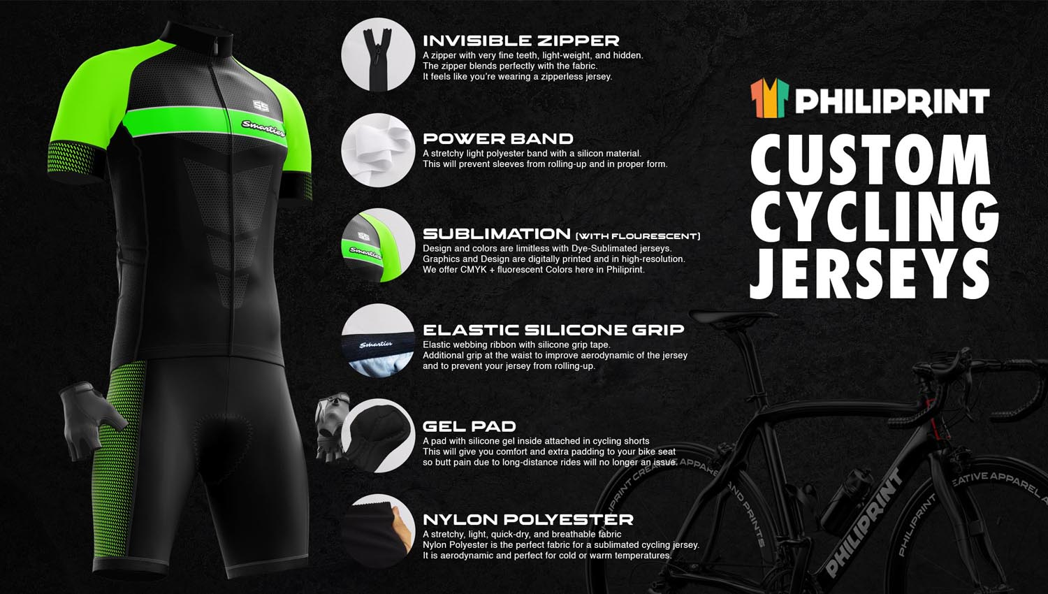Philiprint Cycling Jersey