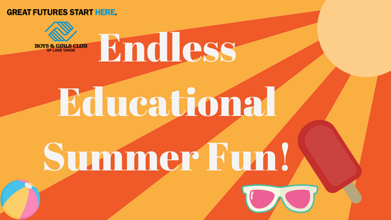 Endless Educational Fun in Tahoe this Summer