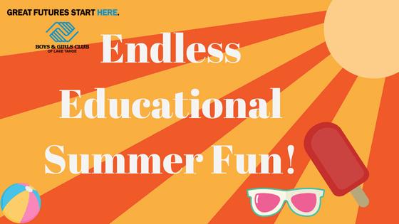 Endless Educational Fun in Tahoe this Summer