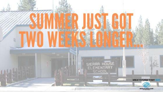 Summer Just Got Two Weeks Longer…