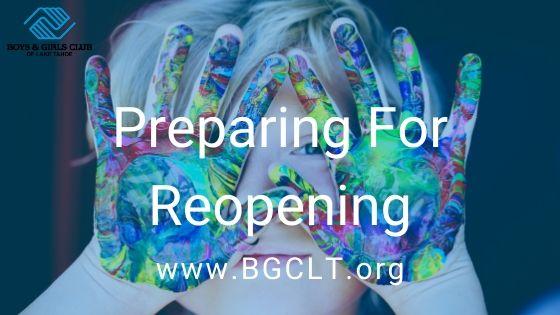 Preparing For Reopening