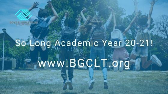 So Long Academic Year 20-21!