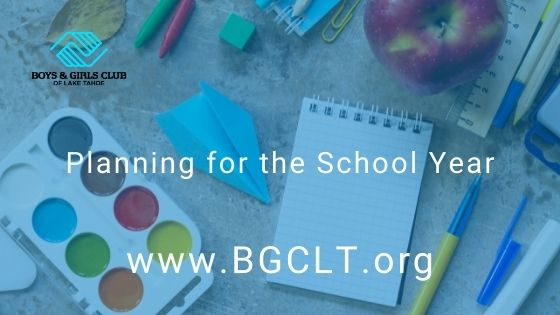 Planning for the School Year