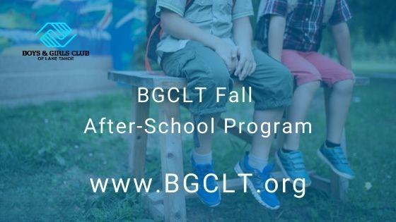 BGCLT Fall After-School Program