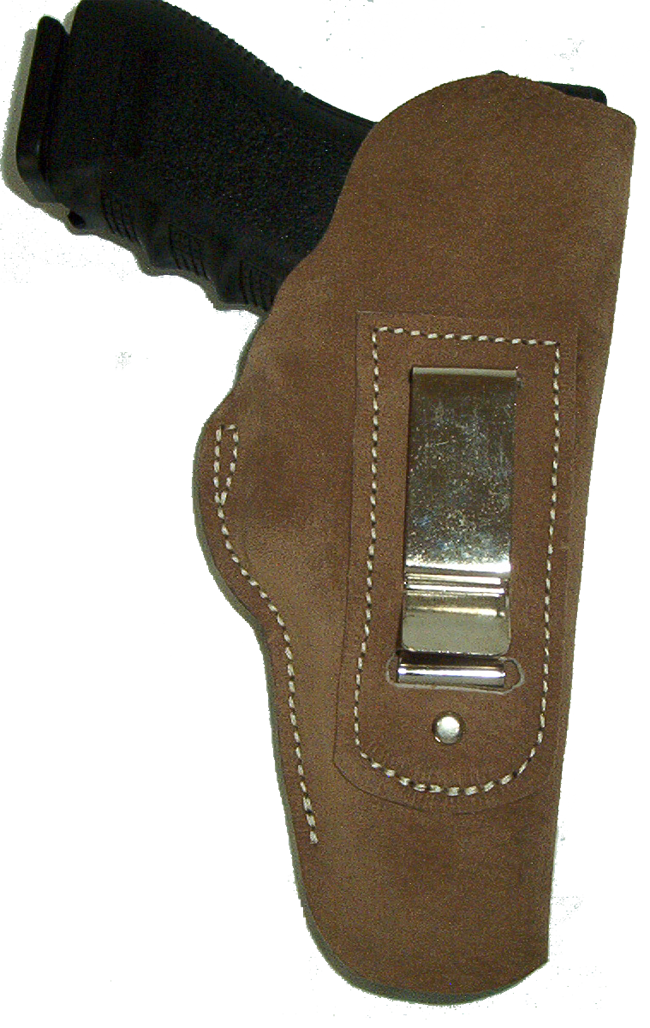 Inside The Pants Holster Made From Split Cow Hide Leather Image