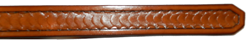 1.25 Inch, Design #15, Medium Brown Image