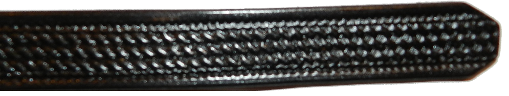 1.25 Inch, Basketweave, Black Image