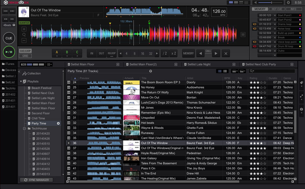 Rekordbox Main