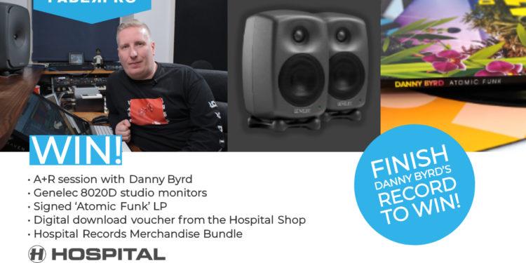 Danny Byrd Contest Hospital Records studio