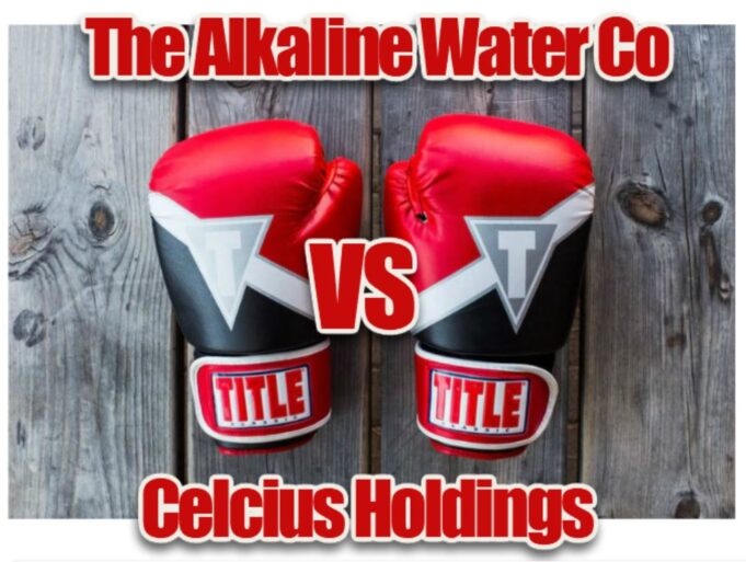 Celcius Holdings, Alkaline Water co