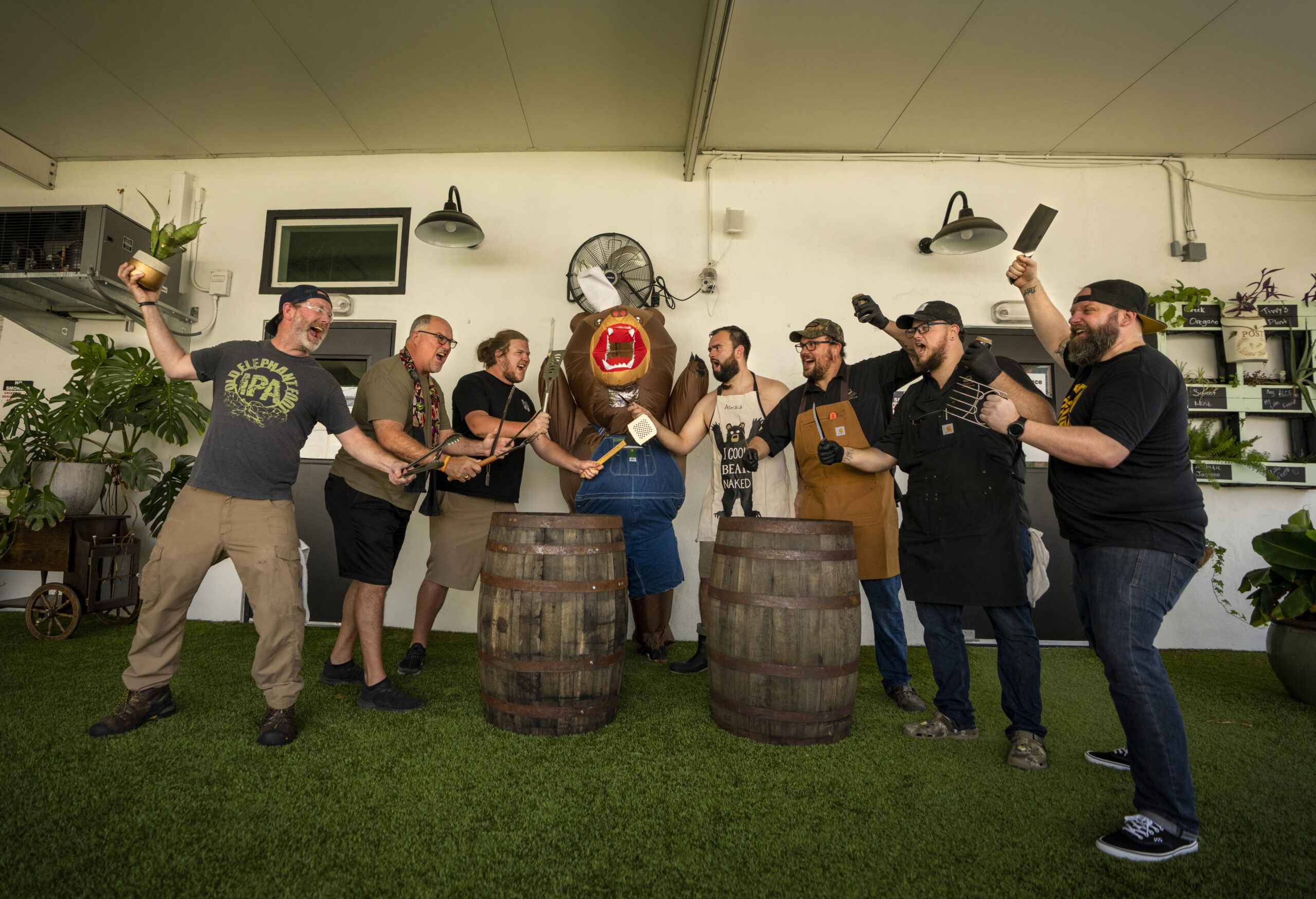 Everyone Wins at Inaugural Brewery BBQ Competition