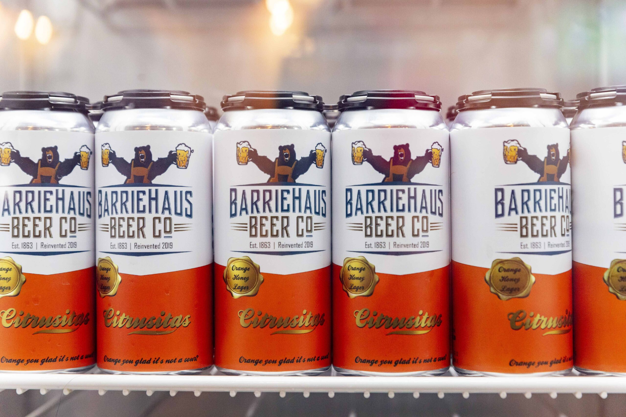 BarrieHaus Beer Co. 1st Anniversary Ribbon Cutting