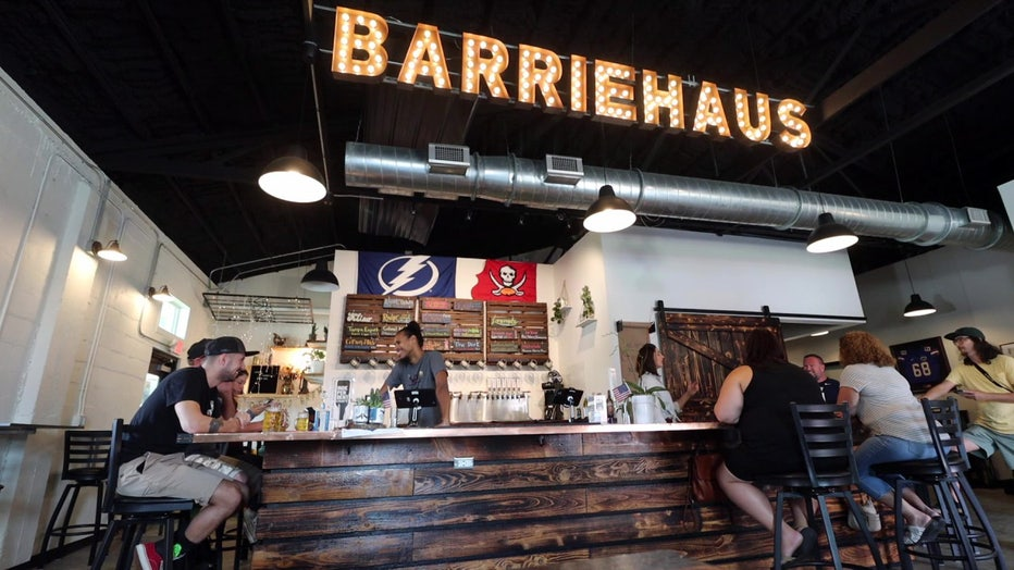 Made in Tampa Bay BarrieHaus Beer Co. in Ybor City
