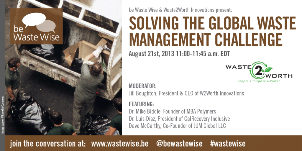 Working together to Solve the Global Waste Management Challenge