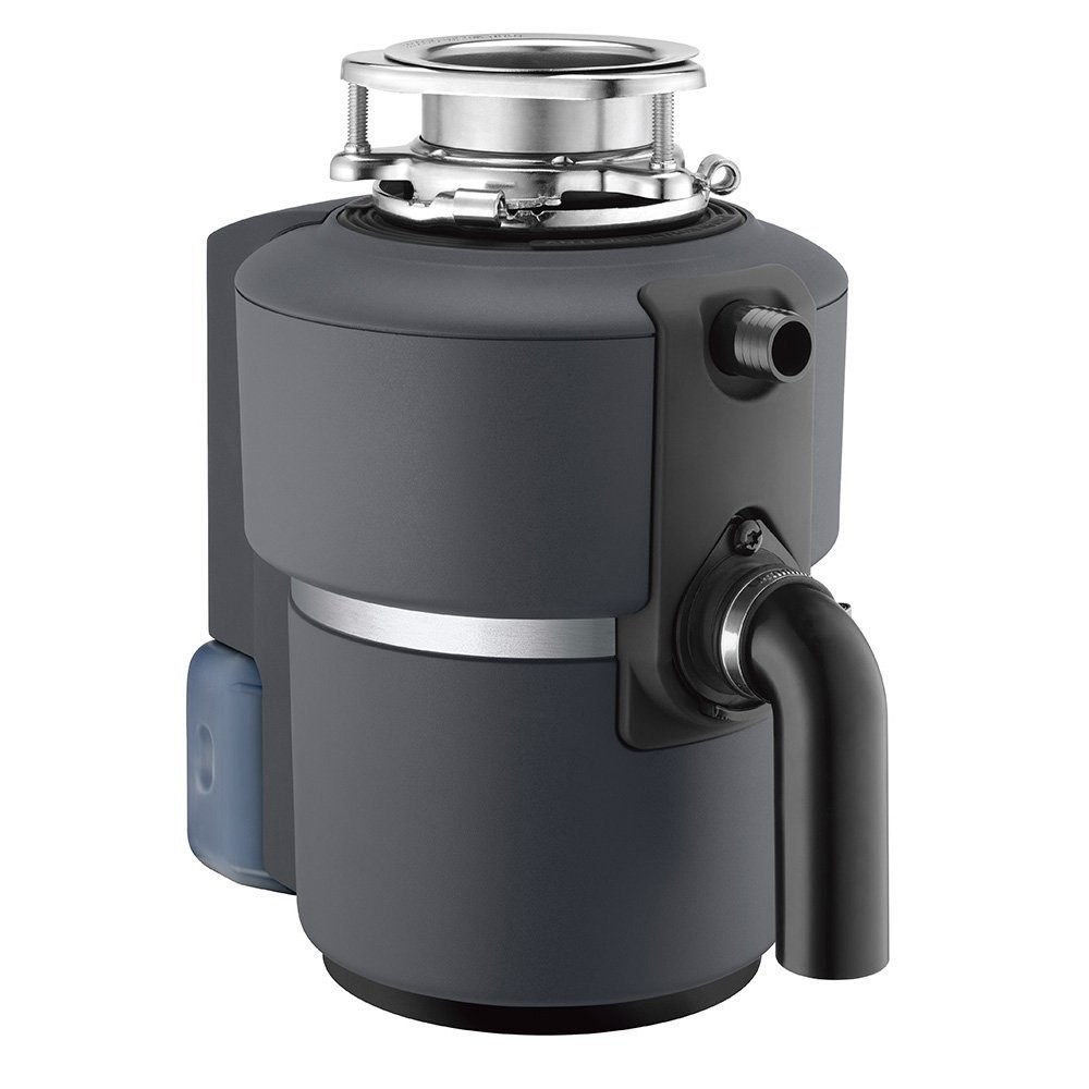 Unlike traditional recycling, the waste that goes down a disposer to an anaerobic digestion facility is not considered as waste diverted from a landfill; Image source: wholesaleplumbing.com
