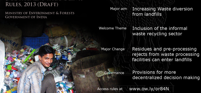 Comments Invited: India's New Municipal Solid Waste (MSW) Rules