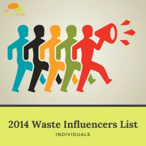 2014 waste influencers list