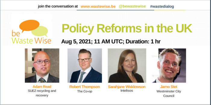 Poster of the webinar Policy Reforms in the UK