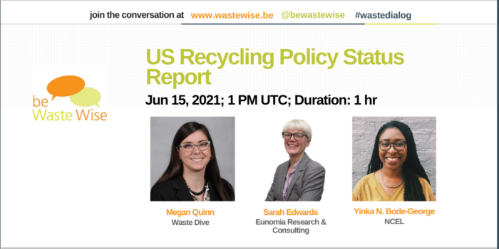 US Recycling Policy Status Report