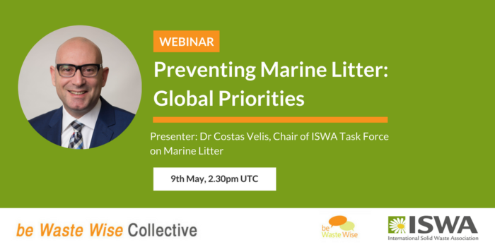Preventing Marine Litter: Global Priorities | Costas Velis, Chair of ISWA Task Force on Marine Litter