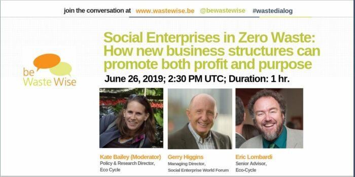 Social Enterprises in Zero Waste
