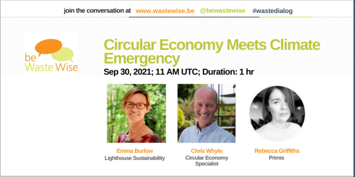 Circular Economy Meets Climate Emergency