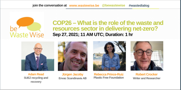 COP26 – What is the role of the waste and resources sector in delivering net-zero?