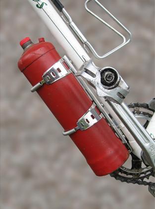BikeBuddy Adjustable Carrier for Stove Fuel