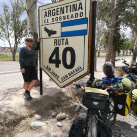 Headed into the Argentinian Desert