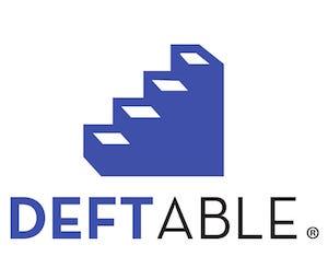 DeftableLogoVerticalTrademark
