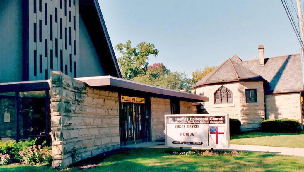St Thomas Episcopal Church in Berea Ohio