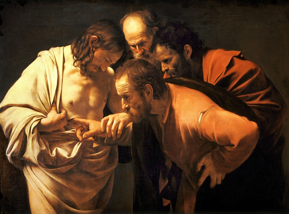 The Incredulity of Saint Thomas 1602