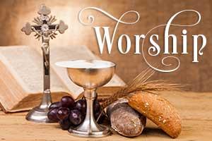 Worship schedule